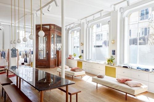 Sézane's Paris apartment | Source: Courtesy
