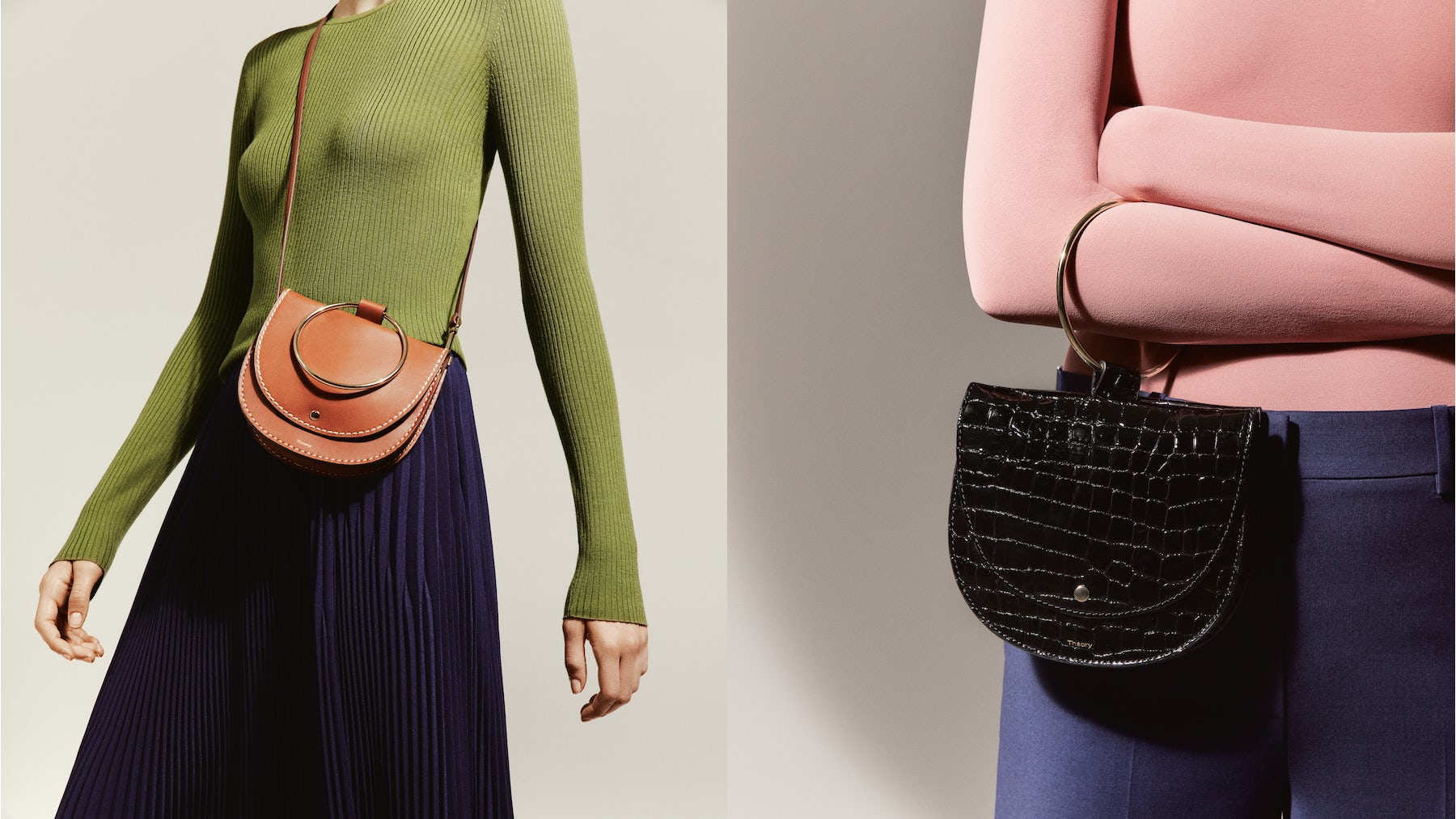 Theory Gets Serious About Handbags