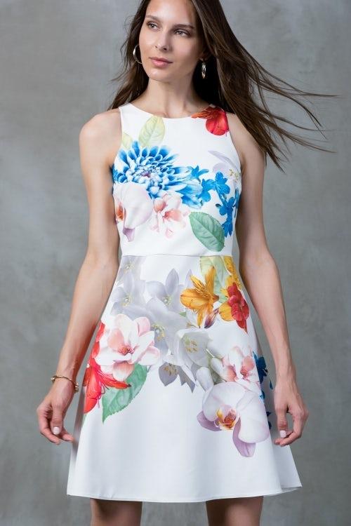 A dress by in-house brand Trendyolmilla | Source: Trendyol