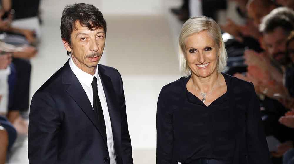 Pierpaolo Piccioli and Maria Grazia Chiuri   Source: Courtesy