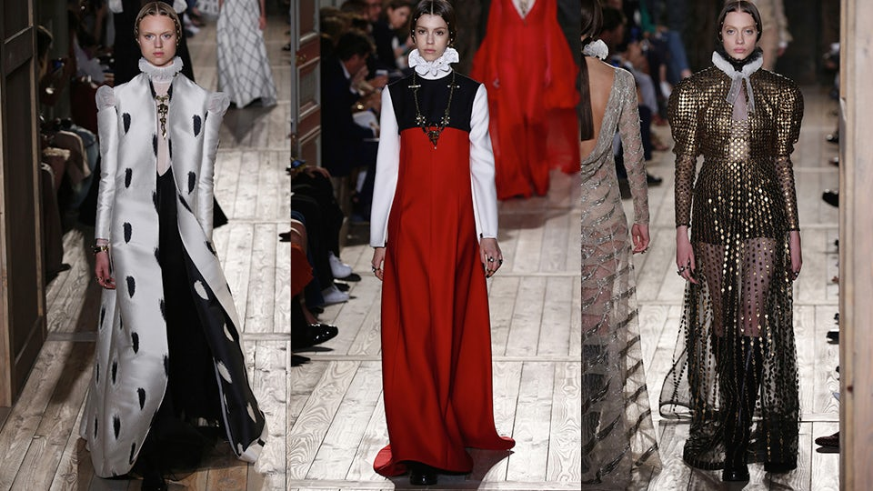Valentino Haute Couture Autumn/Winter 2016 | Source: InDigital.tv