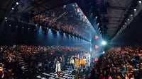 BERLIN, GERMANY - SEPTEMBER 01:  A general view of the runway at the Zalando A/W 17 women show during the Bread & Butter by Zalando at B&&B Stage, arena Berlin on September 1, 2017 in Berlin, Germany.  (Photo by Sascha Steinbach/Getty Images for Zalando,)