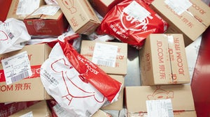 JD.com packages | Source: Shutterstock