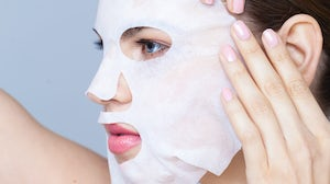 Sheet mask beauty treatment | Source: Shutterstock