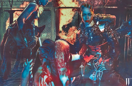 Rihanna shot by Steven Klein for W Magazine's September issue | Source: Courtesy