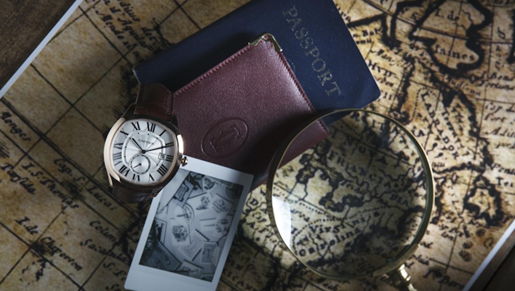 The Cartier Drive watch | Source: Cartier
