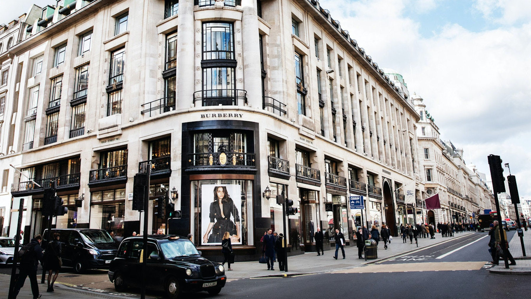 Burberry's London flagship store at 121 Regent Street | Source: Burberry