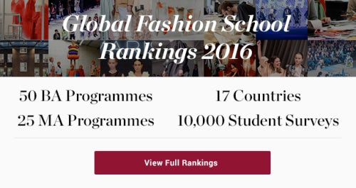 BoF's Annual Global Fashion School Rankings 2016