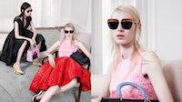 Dior's Autumn/Winter 2014 ready-to-wear campaign, showcasing the brand's eyewear range   Source: Dior