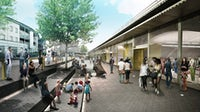 A rendering of Hackney Walk, a new outlet in East London | Source: Courtesy