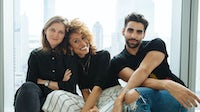 (L-R) Teen Vogue creative director Marie Suter, editor Elaine Welteroth and digital editorial director Phillip Picardi | Photo: Kelly Teacher