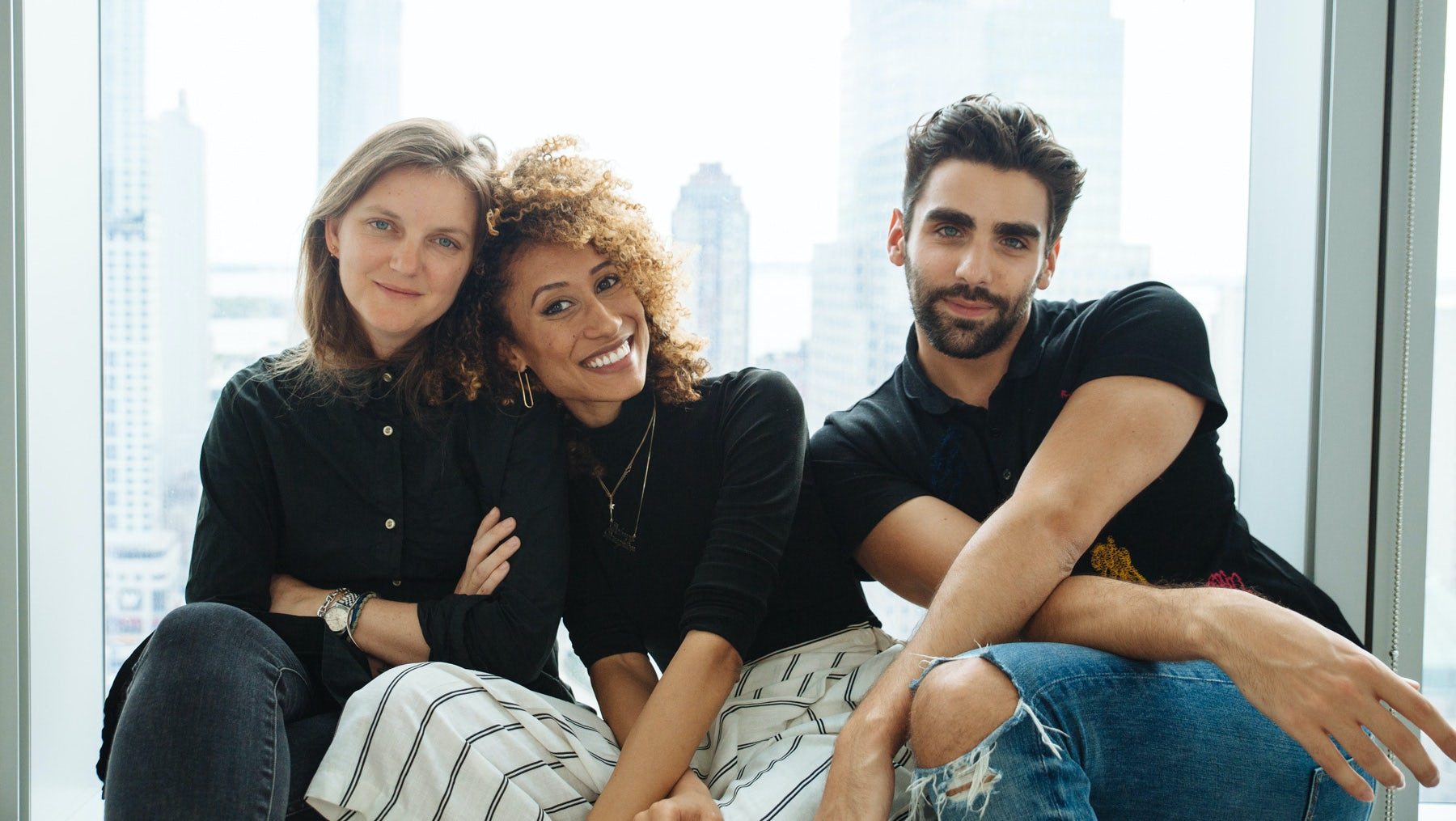 (L-R) Teen Vogue creative director Marie Suter, editor Elaine Welteroth and digital editorial director Phillip Picardi   Photo: Kelly Teacher