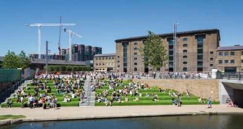 Central Saint Martins' new King's Cross campus | Source: Courtesy