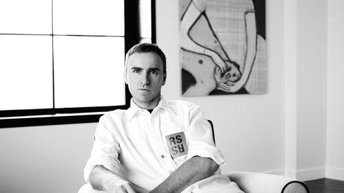 Raf Simons, chief creative officer of Calvin Klein | Photo: Willy Vanderperre, courtesy Calvin Klein