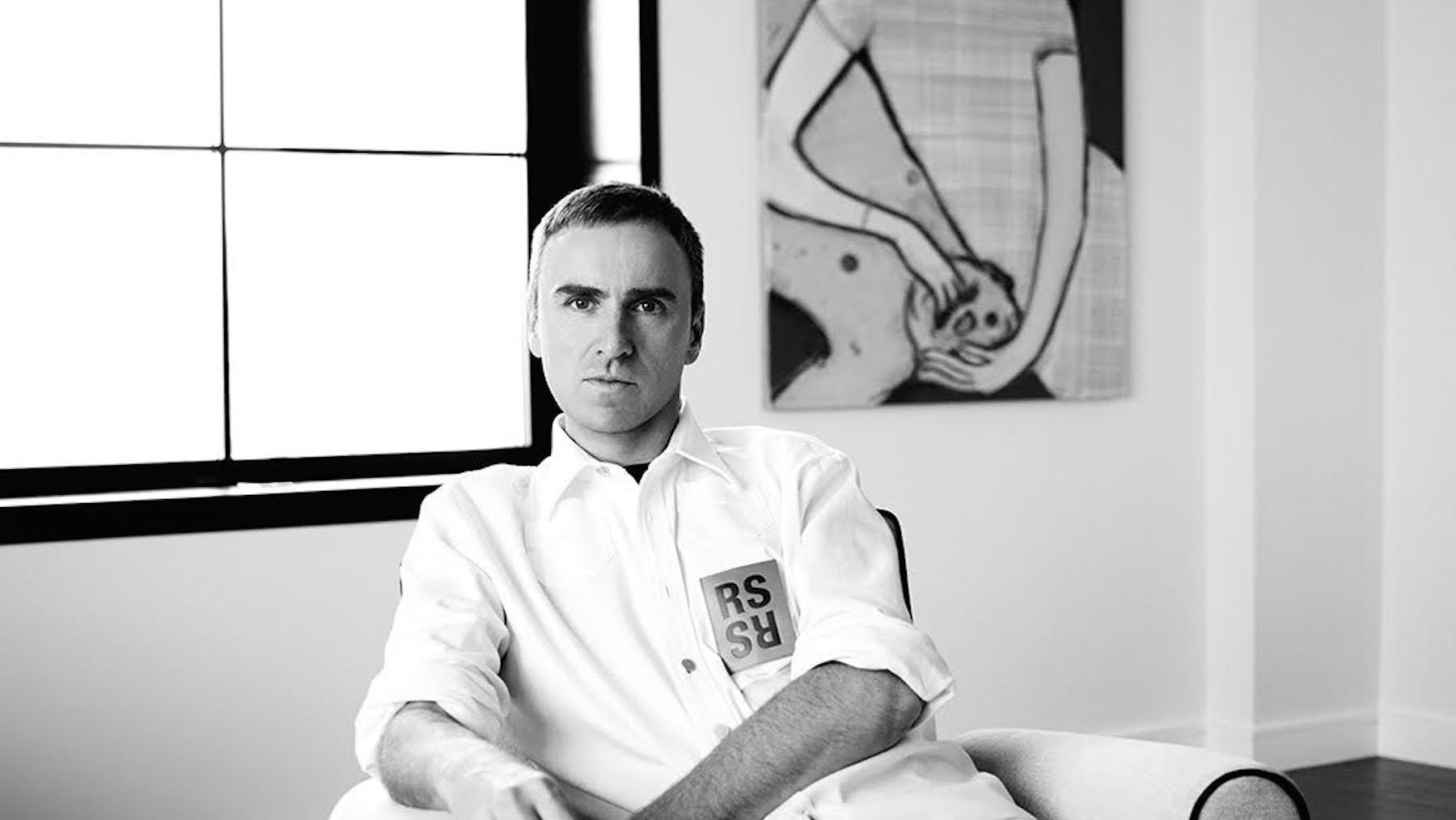 Raf Simons Starts at Calvin Klein, Marking Strategic Shift
