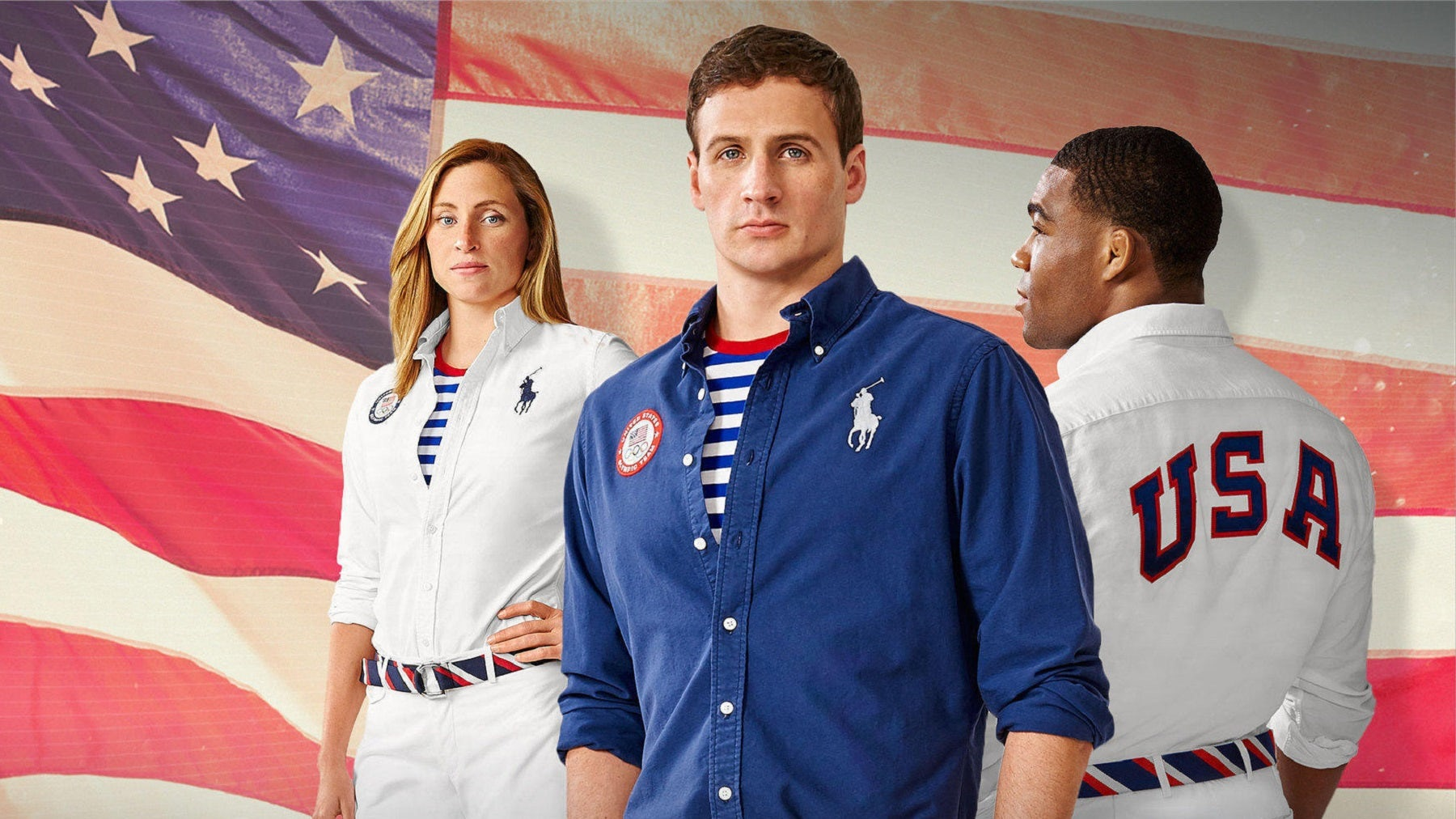 Team USA Olympic uniforms 2016 by Polo Ralph Lauren | Source: Courtesy