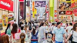 Shoppers in Dōtonbori, a tourist destination in Osaka, Japan | Source: Courtesy