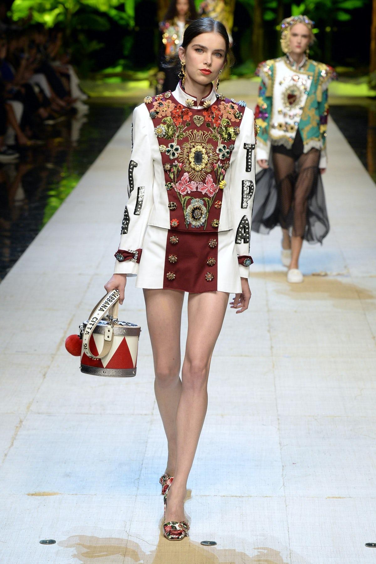 Dolce and Gabbana Spring/Summer 2017   Source: InDigital.tv
