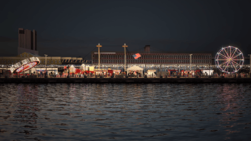 South Street Seaport's Pier 16, which will become Tommy Pier | Source: Courtesy