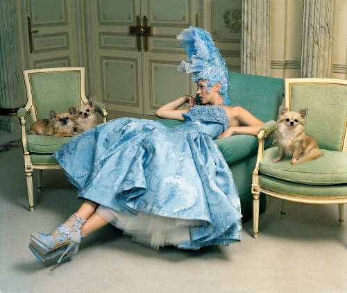 """Checking Out,"" American Vogue April 2012 