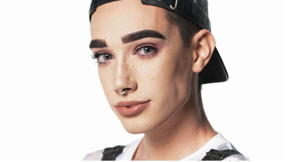 James Charles, a 17-year-old boy, is CoverGirl's latest face