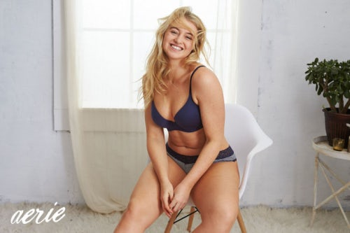 Iskra Lawrence in American Eagle's #AerieReal campaign  | Source: American Eagle