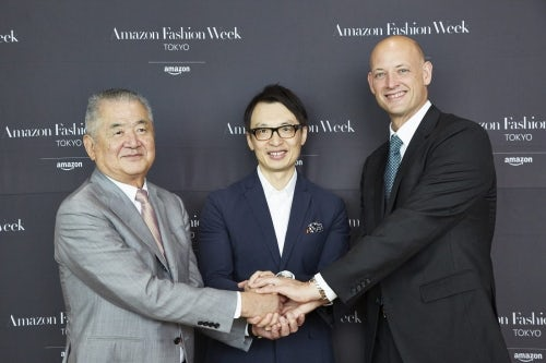 (The announcement of Amazon Fashion Week Tokyo | Source: Amazon