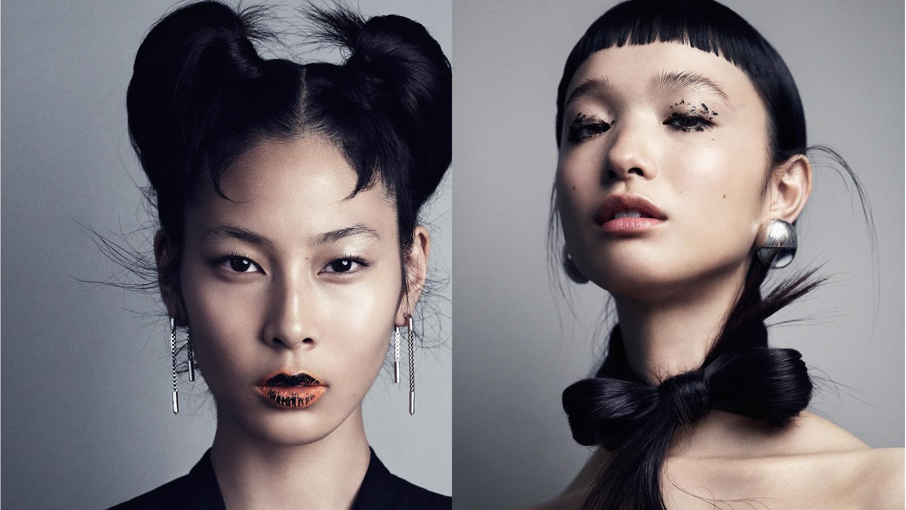 Portraits for 'The Face of Asia' shot by Marcus Ohlsson for Vogue Japan September 2016