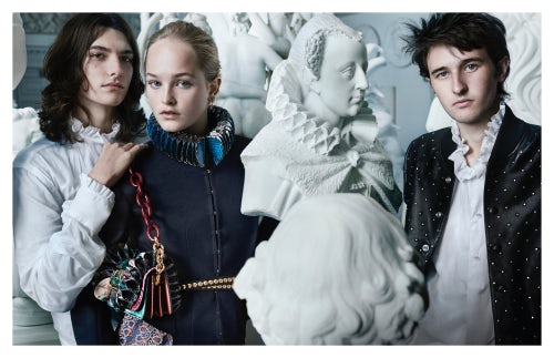 Burberry September collection | Source: Courtesy