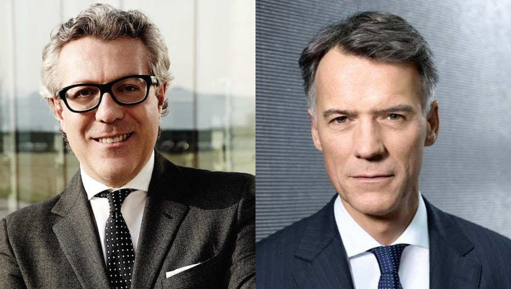 Carlo Alberto Beretta (left) and Claus-Dietrich Lahrs (right) | Source: Courtesy