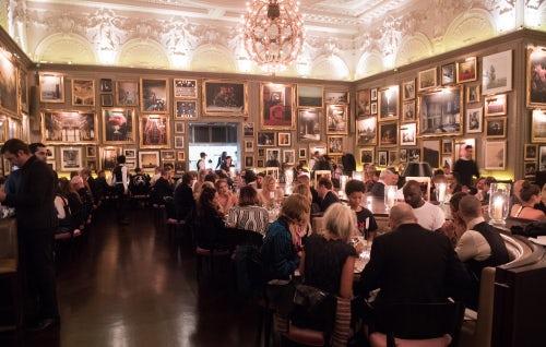 The BoF500 gala dinner