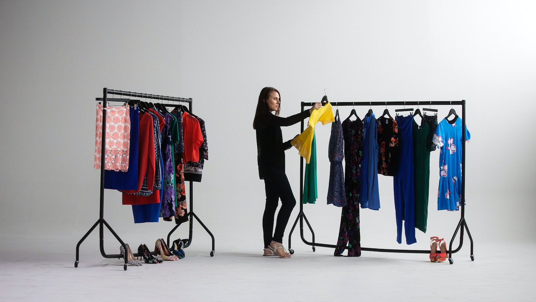 Inside Amazon's fashion studio in Shoreditch, London, which opened in 2015   Source: Getty