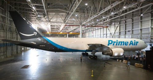 Amazon's Prime Air cargo plane | Source: Amazon