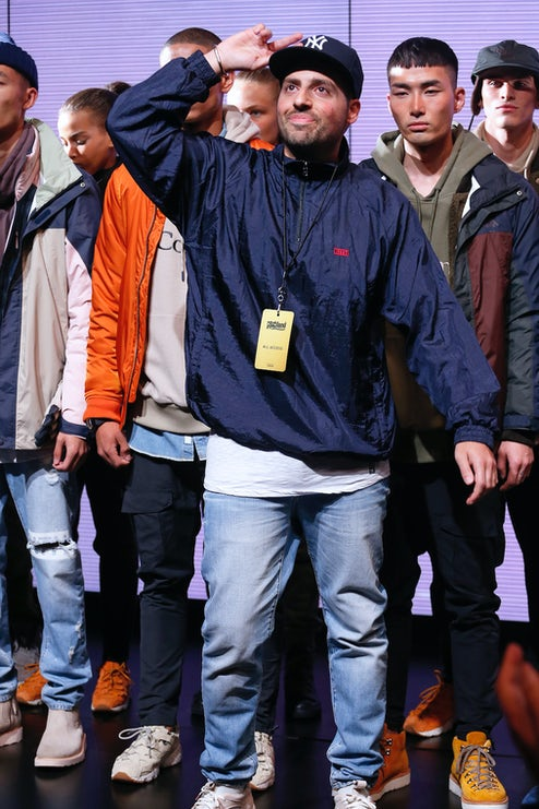 the latest 8cfde 364f8 Last night Ronnie Fieg s Kith made its New York Fashion Week debut    Source  Courtesy