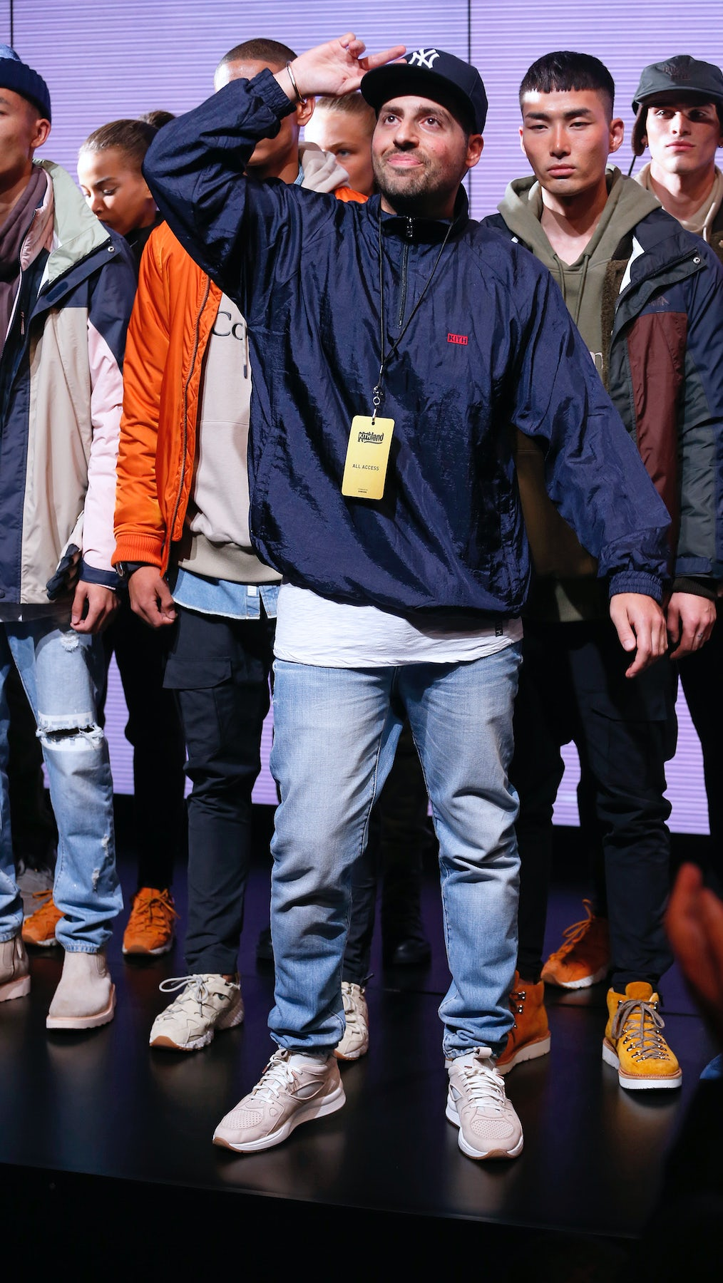 Last night Ronnie Fieg's Kith made its New York Fashion Week debut | Source: Courtesy