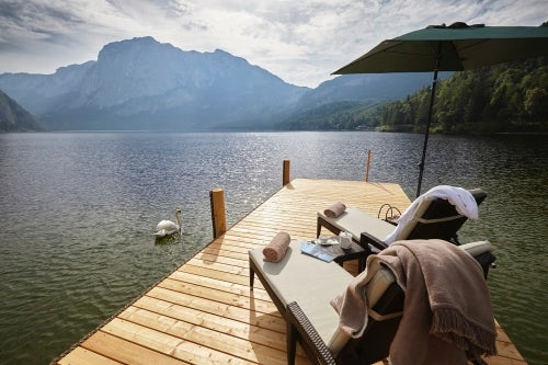 The new Vivamayr clinic on the shores of Lake Altaussee, Austria | Source: Courtesy