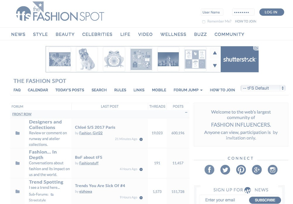 Why Fashion Forums Still Matter