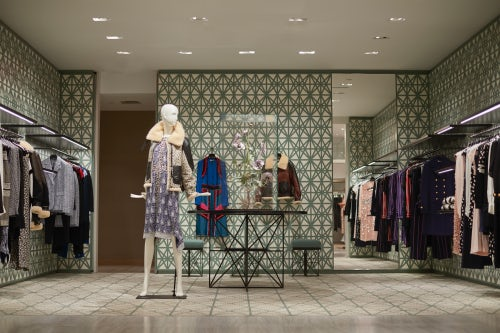 Altuzarra's new shop-in-shop in Saks Fifth Avenue | Photo: Richie Talboy for BoF