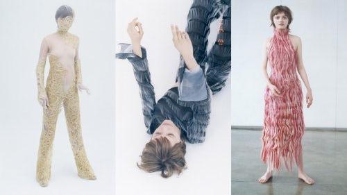 Wanbing Huang以自闭症影片为灵感而设计的系列   图片来源:对方提供