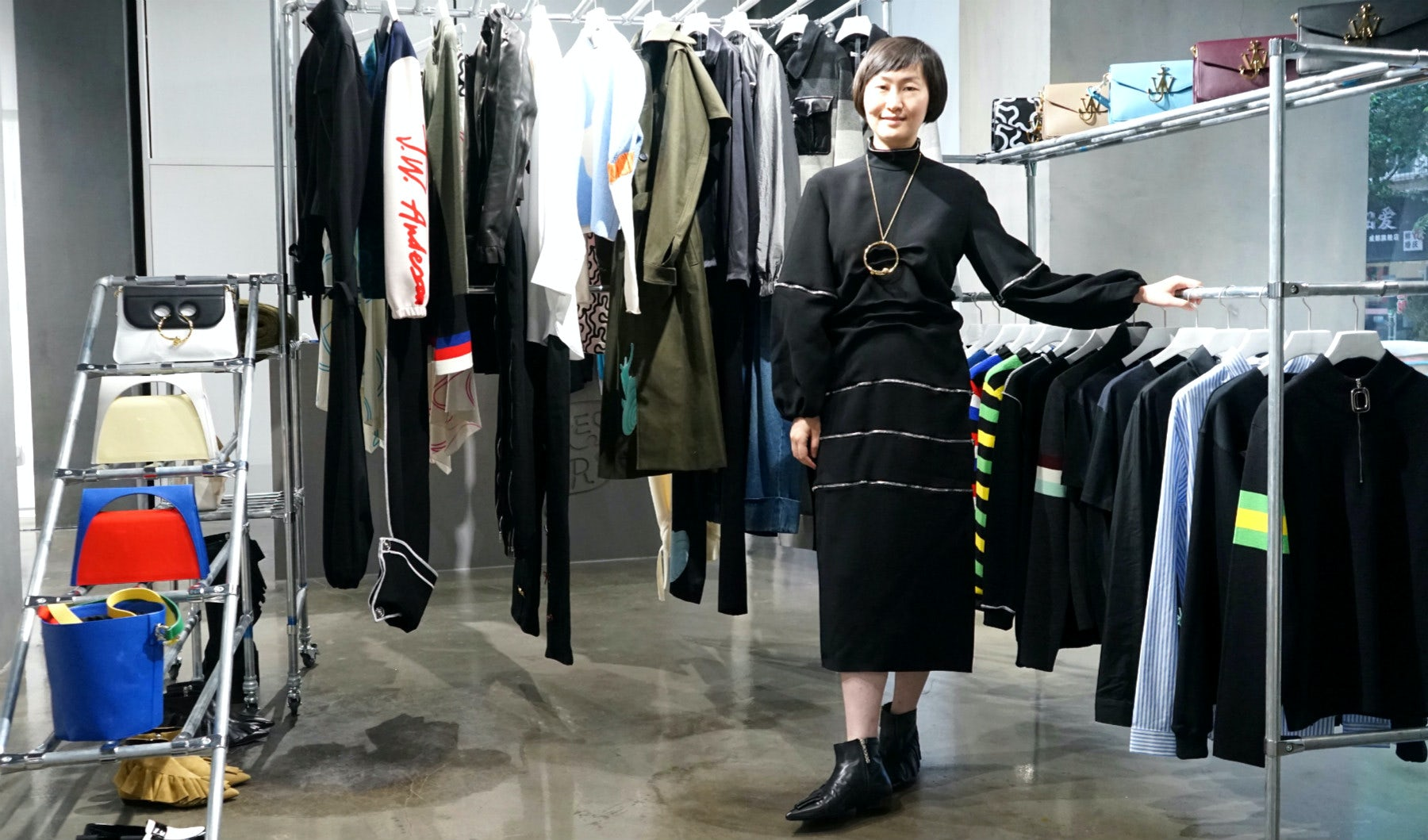 Ai Zhuo, founder of Dressing for Fun | Source: Courtesy