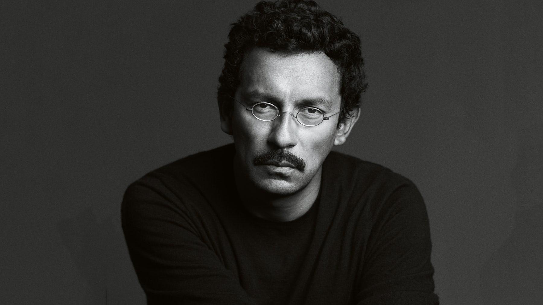 Haider Ackermann | Photo: Mark Abrahams, courtesy of Berluti