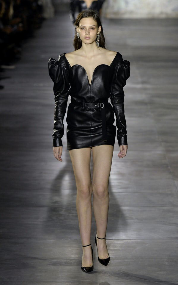 Fashion Week  Anthony Vaccarello Yves St Laurent