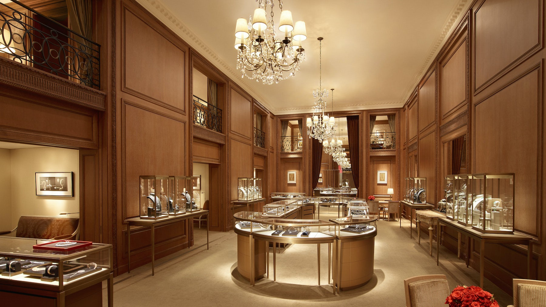 The Oak Room inside Cartier's renovated mansion on 651 Fifth Avenue | Photo: Laziz Hamani/Cartier