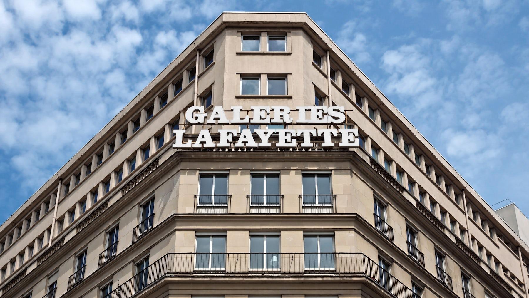 Galeries Lafayette   Source: Shutterstock