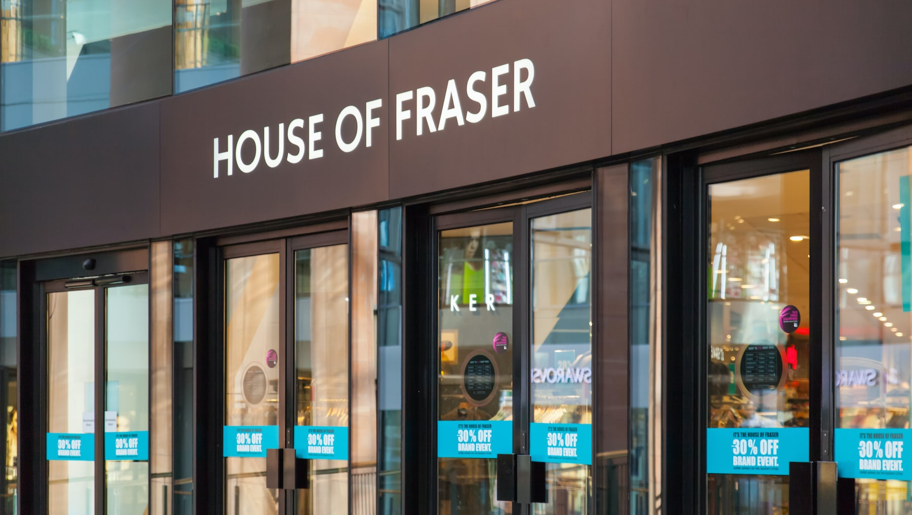 House of Fraser | Source: Shutterstock