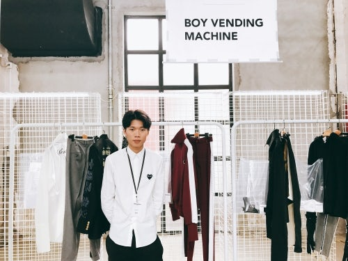 Boy Vending Machine设计师梁桓Lerry   图片来源:Tianwei Zhang