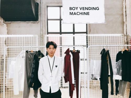 Boy Vending Machine设计师梁桓Lerry | 图片来源:Tianwei Zhang