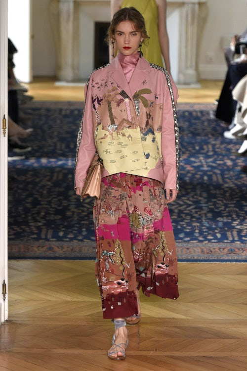 Valentino Spring/Summer 2017 | Source: Indigital