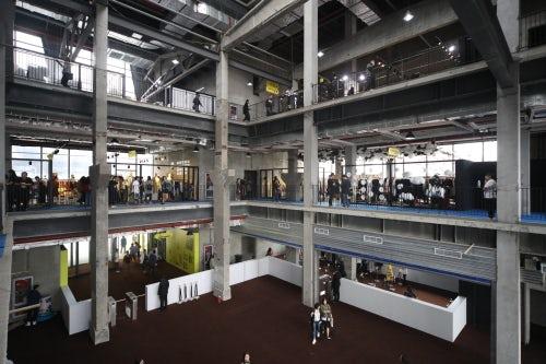 MODE上海服装服饰展主会场内部  图片来源:上海时装周