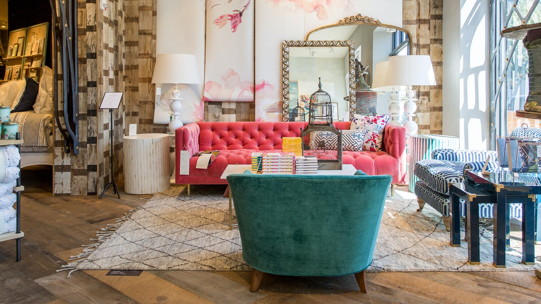 Inside Anthropologie & Co's Walnut Creek, California 30,000-square-foot superstore. | Source: Courtesy